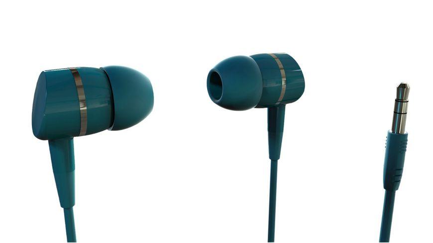 VIVANCO SOLIDSOUND PETROL OHRHOERER IN EAR