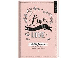 myNOTES Live the life you love Bullet Journal fuer meine Plaene Traeume und Ideen