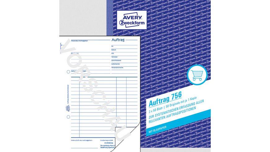sigel Formularbuch Auftrag AU525 A5 2 x 50Blatt