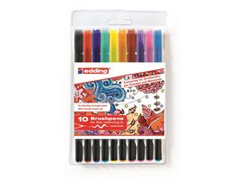 edding Brushpen 1340 Zendoodle Colouring 10er Set