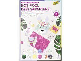 folia Designpapierblock 12 Motive sortiert