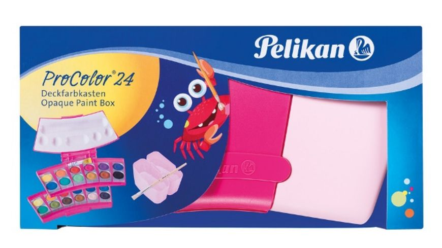 Pelikan Deckfarbkasten ProColor 24 pink
