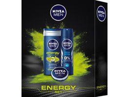 NIVEA Men Energy Geschenkset