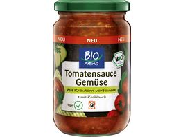 BIO PRIMO Tomatensauce Gemuese