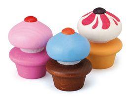 Erzi Cupcakes aus Holz