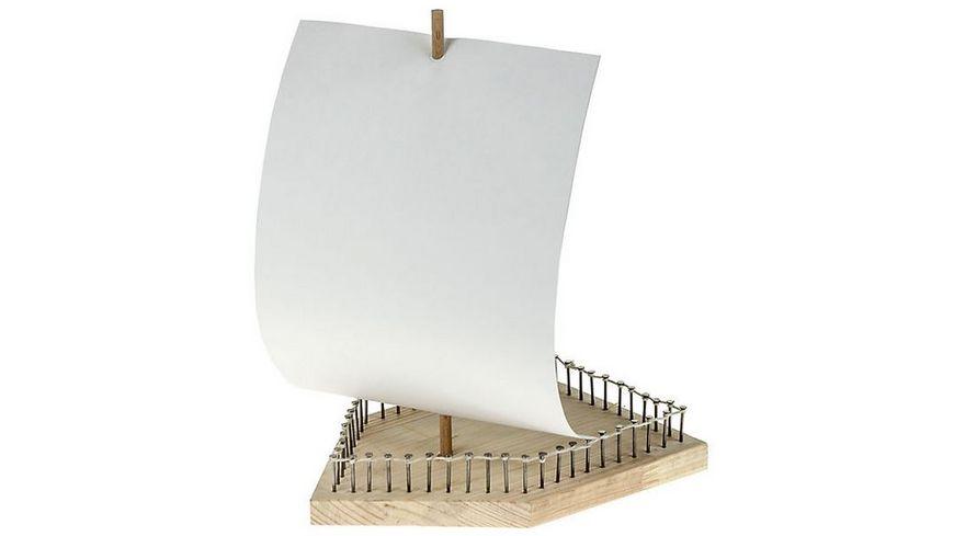 Pebaro Holzbausatz Schiff