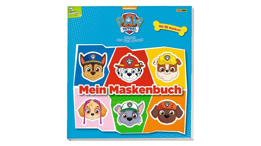 PAW Patrol Mein Maskenbuch