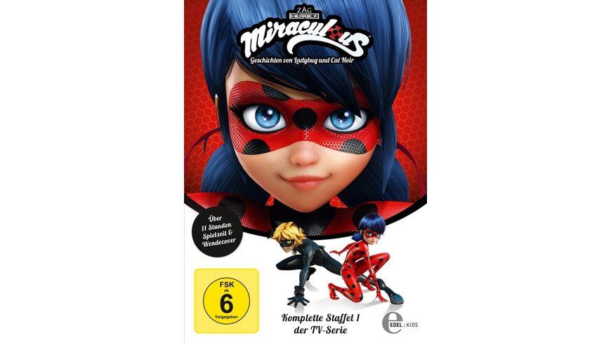 Miraculous Geschichten von Ladybug und Cat Noir Staffelbox 1 3 DVDs
