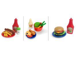 dantoy Fastfood Set Burger Hot Dog Haehnchen sortiert