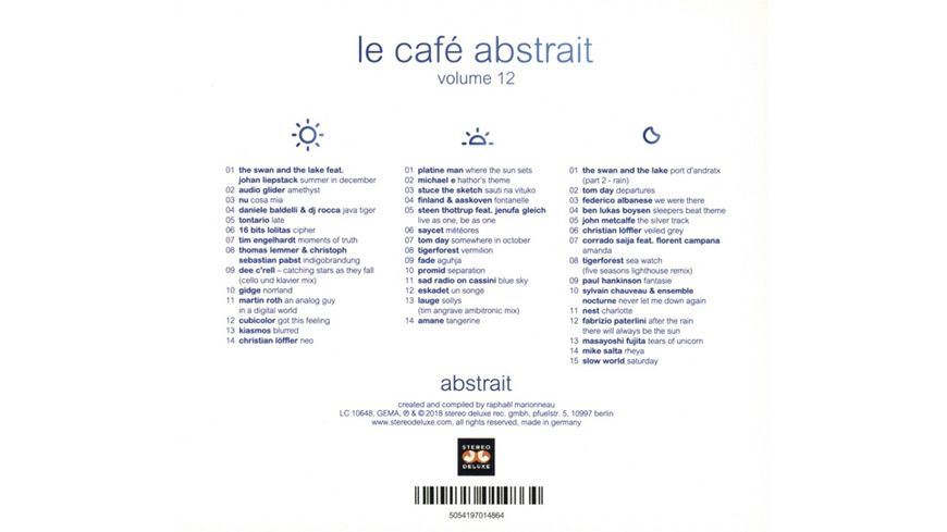 Le Cafe Abstrait Vol 12