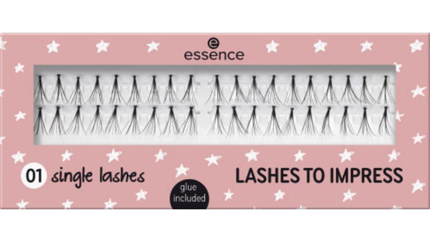 essence lashes to impress single lashes