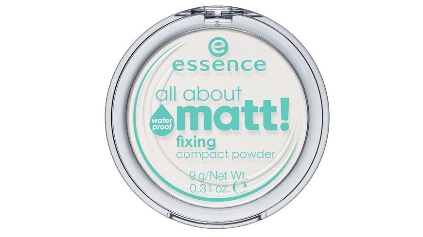 essence all about matt fixing compact powder waterproof