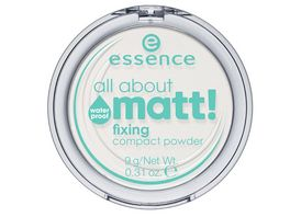 essence all about matt fixing compact powder waterproof