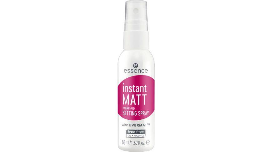 essence instant matt make up setting spray