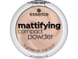 essence mattifying compact powder 10 light beige