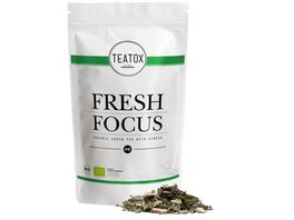 TEATOX Fresh Focus Bio Gruentee mit Ginseng Looser Tee im Refill
