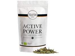 TEATOX Active Power Bio Gruentee mit Guarana Looser Tee im Refill