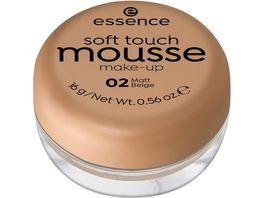 essence soft touch mousse make up 02 matt beige