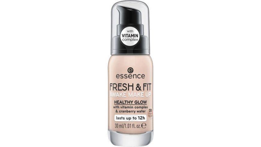 essence fresh fit awake make up