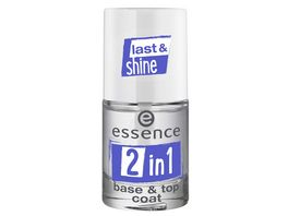 essence 2in1 base top coat