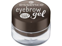 essence eyebrow gel colour shape