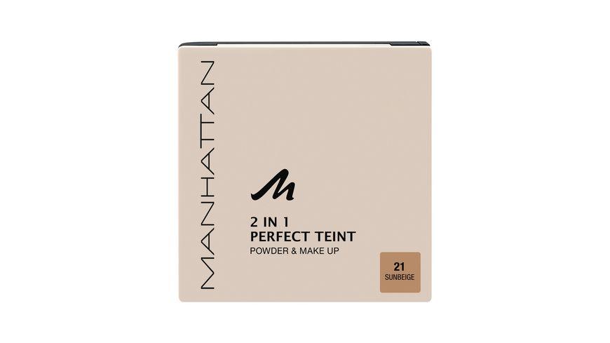 MANHATTAN COSMETICS 2in1 Perfect Teint Powder