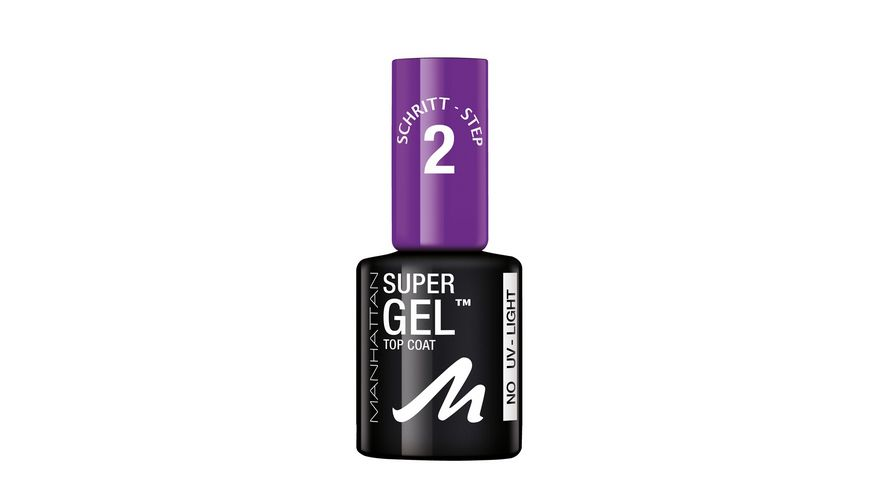 MANHATTAN COSMETICS Super Gel Top Coat