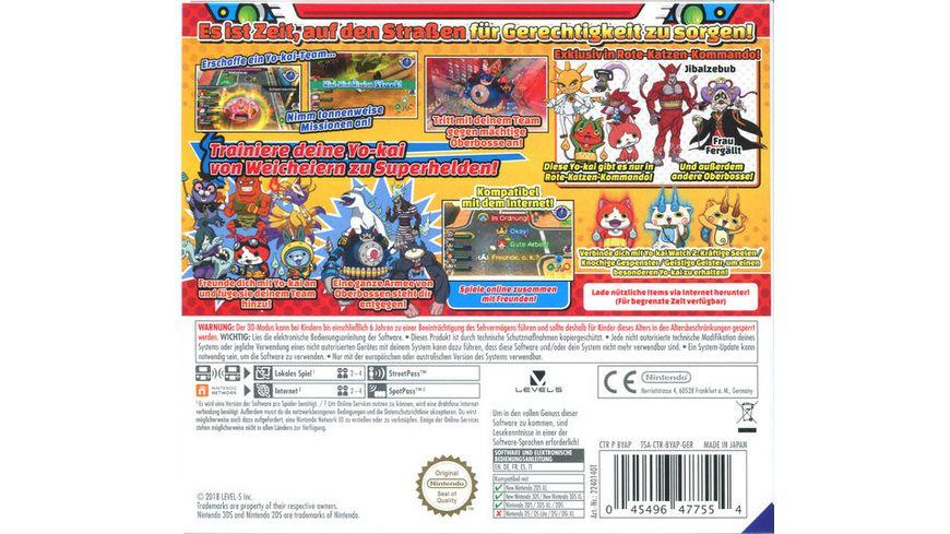 Yo Kai Watch Blasters Rote Katzen Kommando