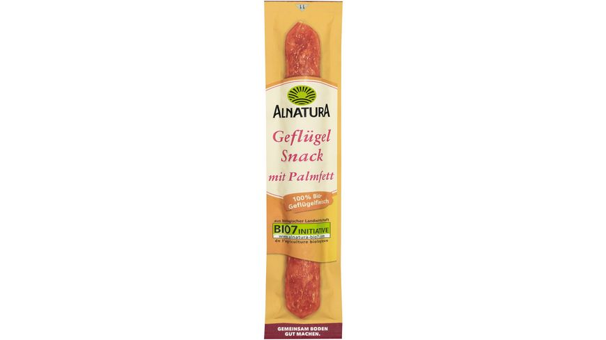 Alnatura Gefluegel Salami Snack