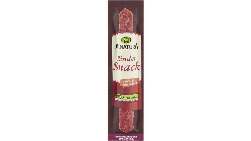 Alnatura Rinder Salami Snack