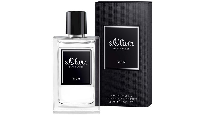 s Oliver Black Label Men Eau de Toilette Natural Spray