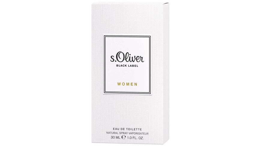 s Oliver Black Label Eau de Toilette Natural Spray