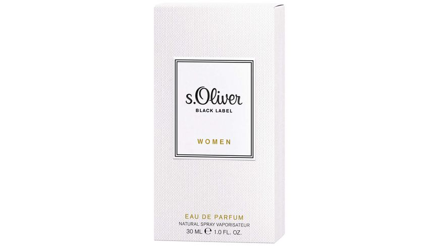 s Oliver Black Label women Eau de Parfum Natural Spray