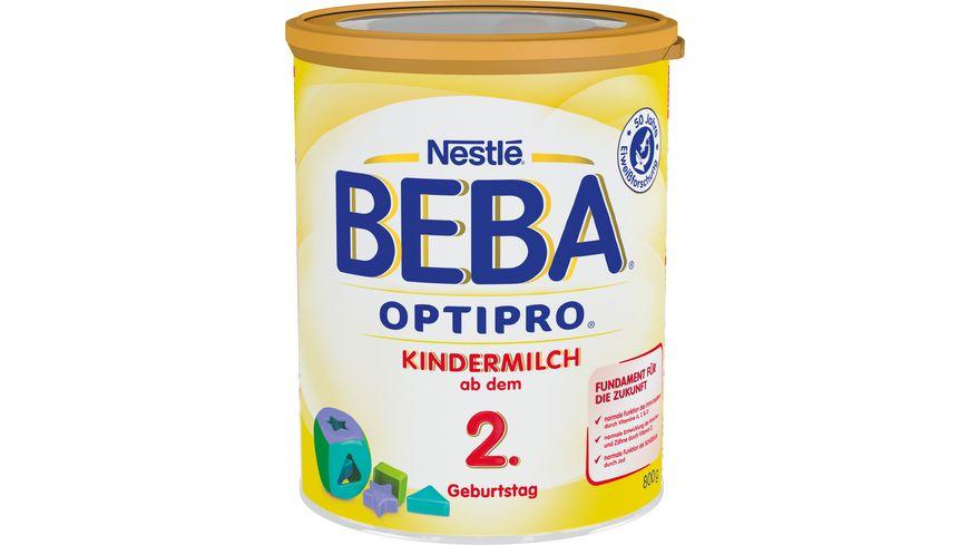Nestle BEBA OPTIPRO Kindermilch ab dem 2 Geburtstag 800 g