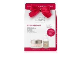 ANNEMARIE BOeRLIND SYSTEM ABSOLUTE Onpack Glaettende Tagescreme Straffendes Beauty Fluid