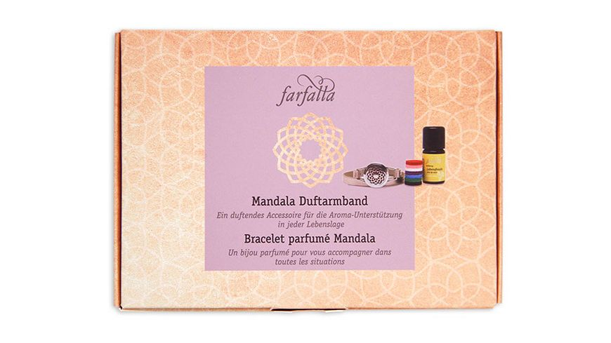 Farfalla Mandala Duftarrmband