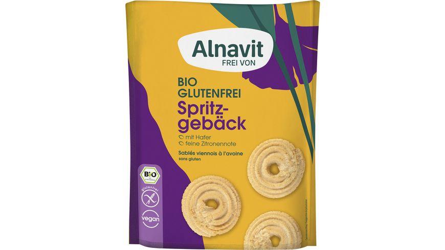 Alnavit Bio Hafer Spritzgebaeck