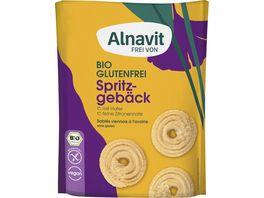 Alnavit Bio Hafer Spritzgebaeck glutenfrei