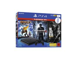 PS4 Konsole 1TB Hits Bundle