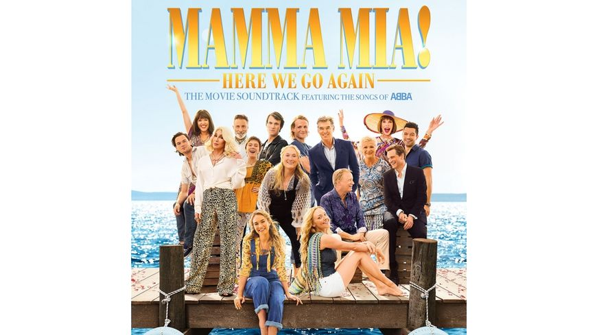 Mamma Mia Here We Go Again 2LP
