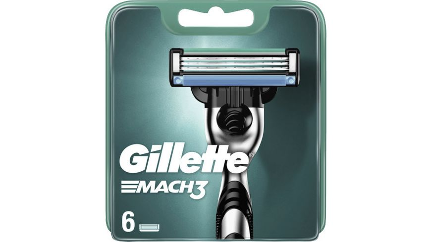 Gillette Mach3 Systemklingen 6er