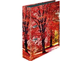 herlitz Motiv Ordner A4 Herbstbaum breit