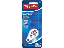 Tipp Ex Mini Pocket Mouse Korrekturroller 6 m x 5 mm 1er Pack