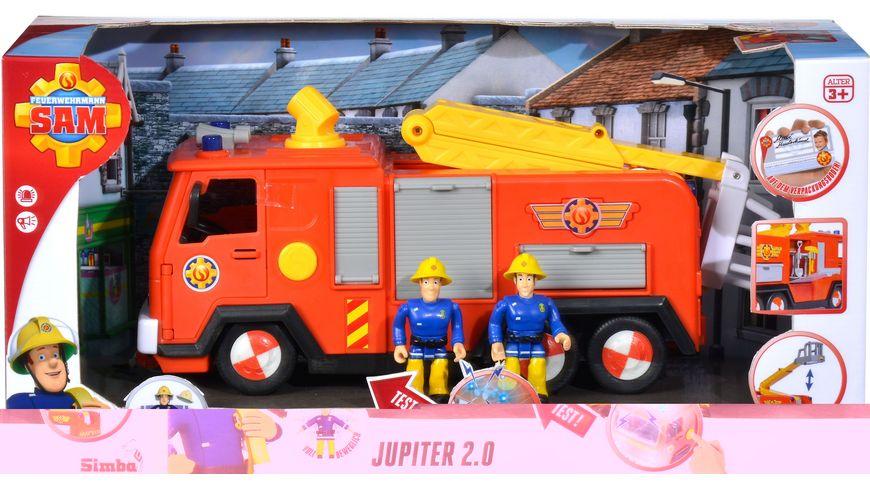 Simba Feuerwehrmann Sam Jupiter 2 0 mit 2 Figuren