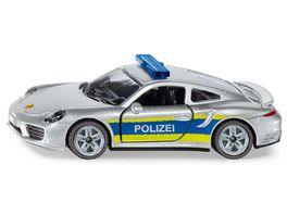 SIKU 1528 Super Porsche 911 Autobahnpolizei