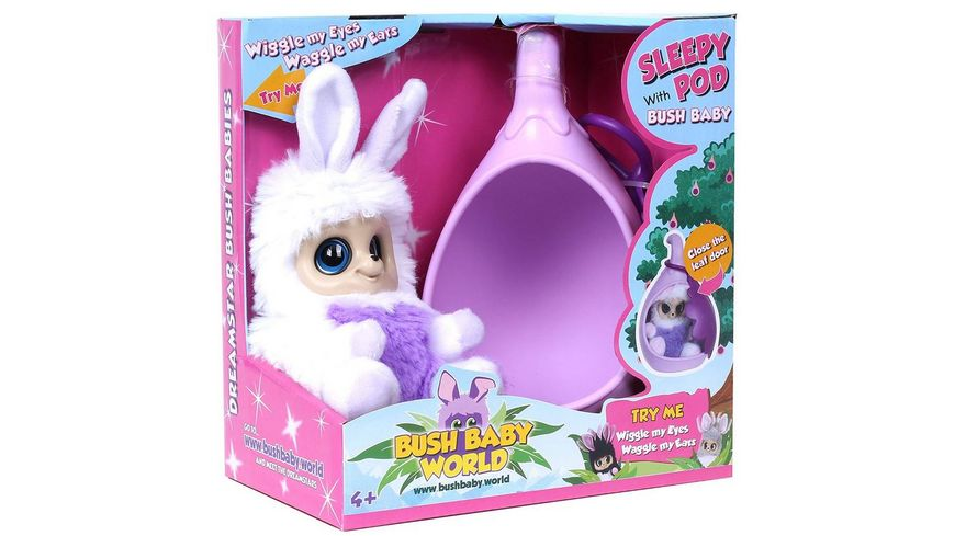Bush Baby World Sleepy Pod mit Abi
