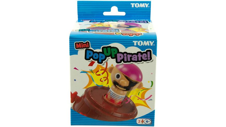TOMY Mitbringspiele Pop up Pirate