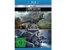 Jurassic World 2 Movie Collection 2 Blu rays 2 DVD Bonusdiscs
