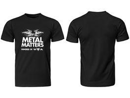 T SHIRT METAL MATTERS GROESSE L
