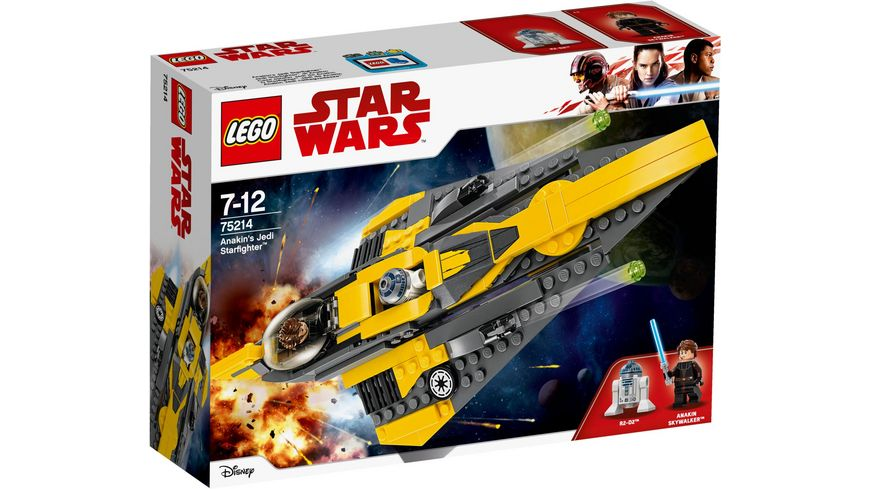 LEGO Star Wars 75214 Anakin s Jedi Starfighter